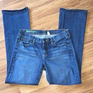 J Crew Bootcut Medium Wash Medium Rise Jeans